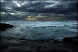 sea-night