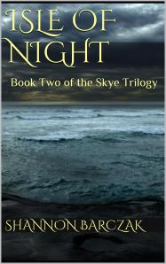 Isle of night book cover 3