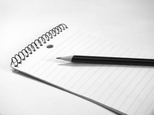 pencil_on_lined_paper_1_bw_FreeTiiuPix_com
